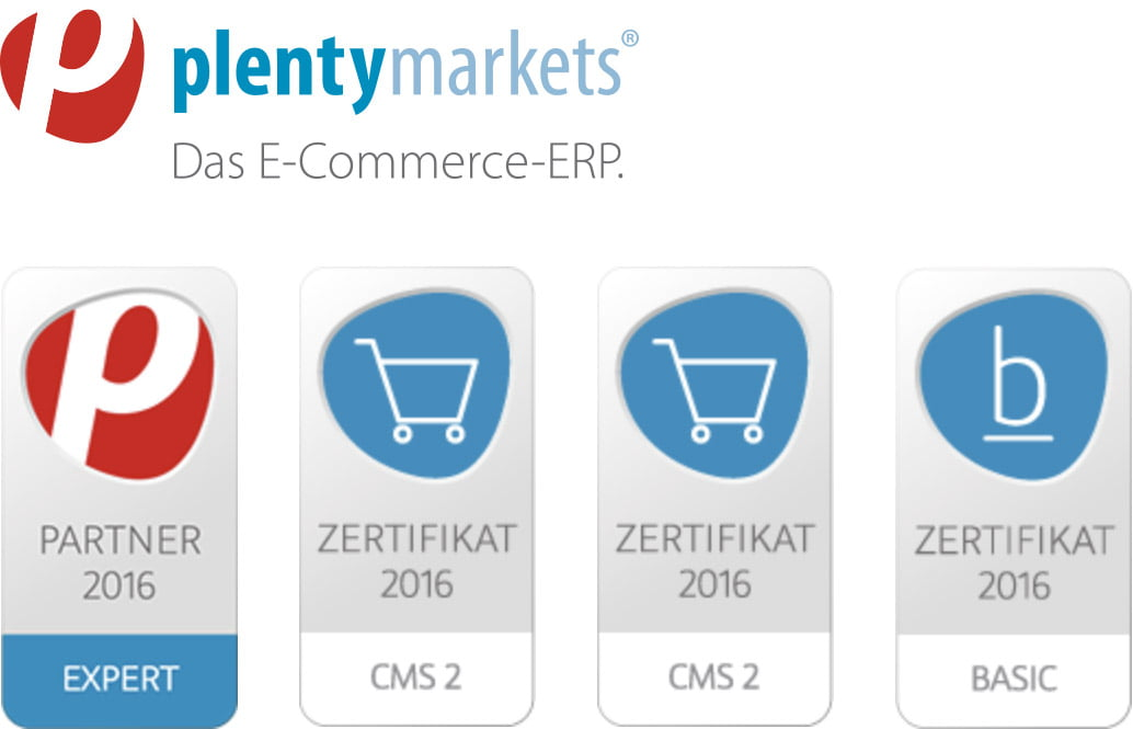 plentymarkets zertifikate