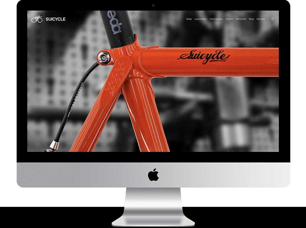 Referenz Mac suicycle webshop