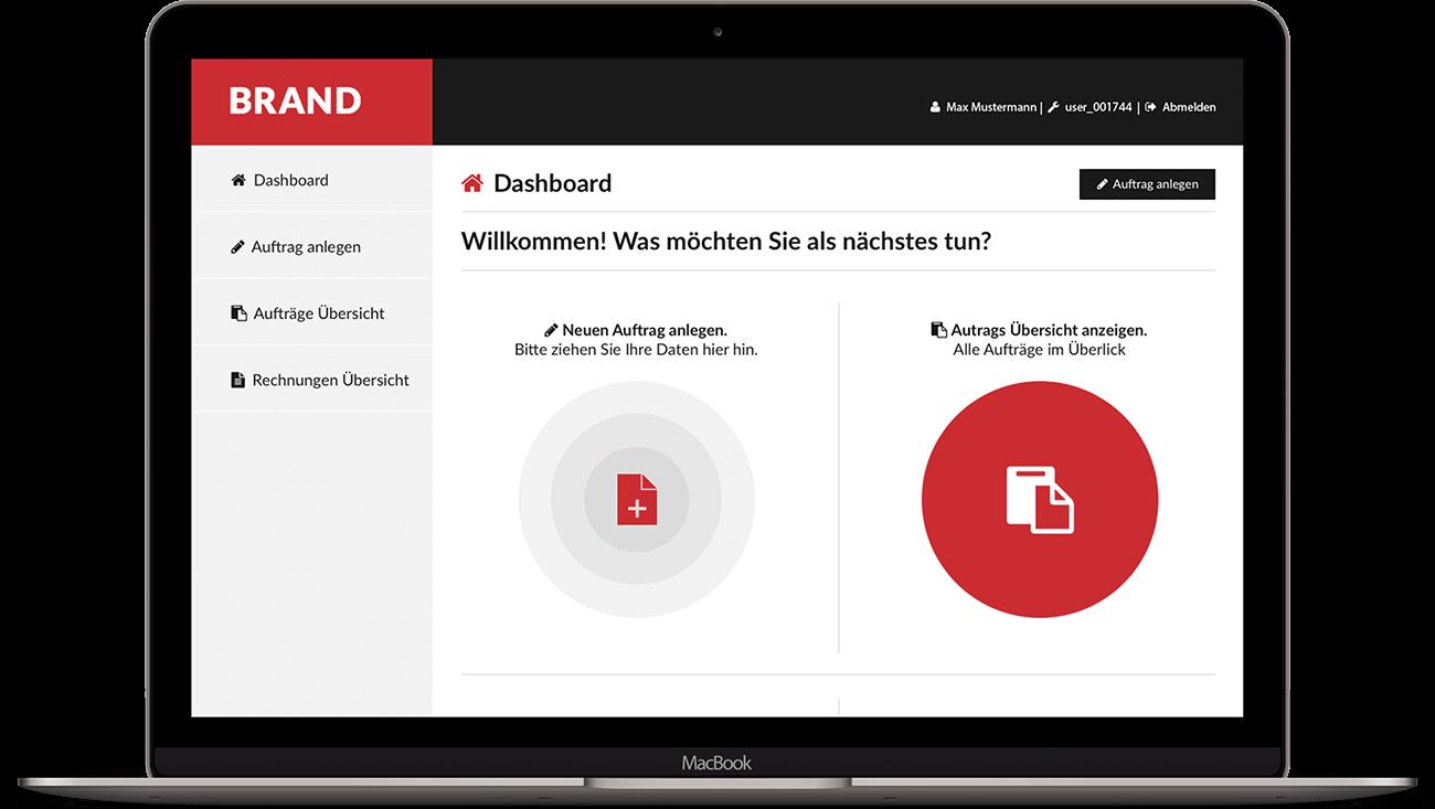 backend macbook übersichtseite