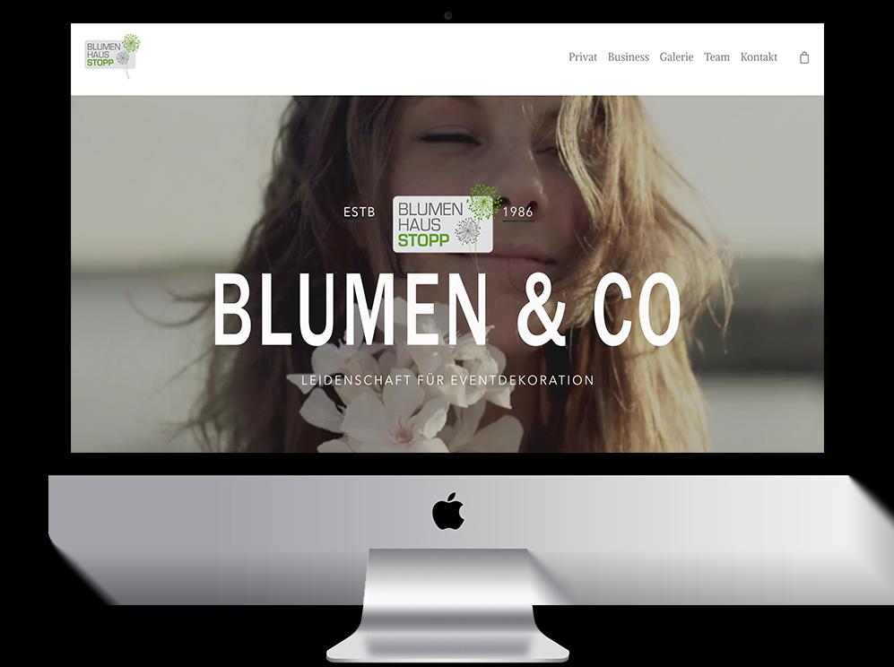 Blumenhaus Stopp Website