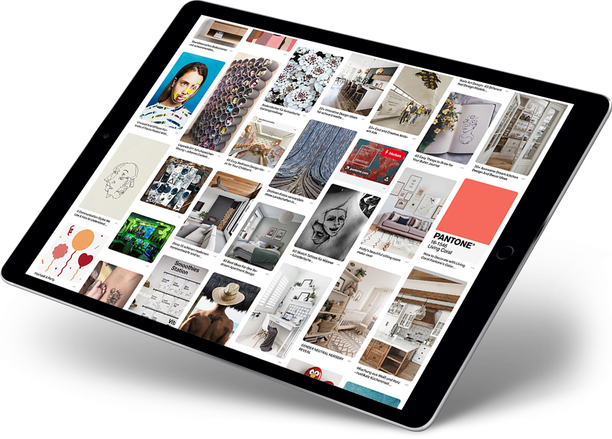 Pinterest Ads Agentur - Pinterest Feed
